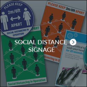 Social Distance Signage
