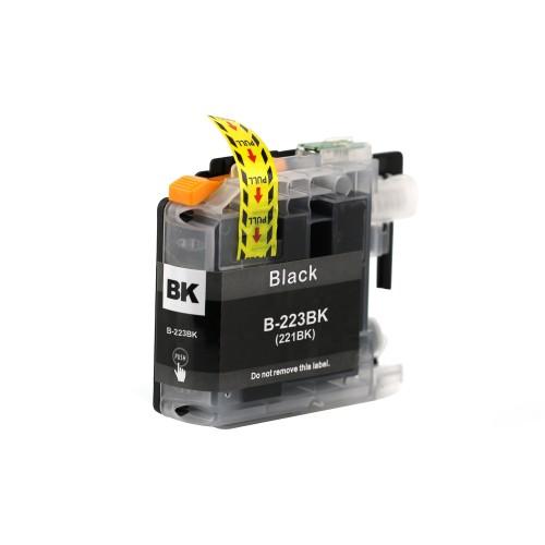 Brother Comp. Inkjet Cart LC223BK Black