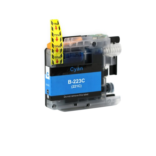 Brother Comp. Inkjet Cart LC223C Cyan