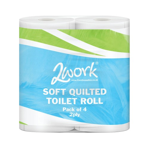 SOFTY T/ROLLS 4PK 2PLY (PK40)