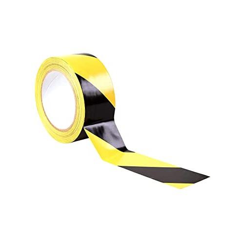 Yellow & Black Hazard Tape