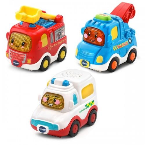 VTech Vtech Toot Toot Drivers 3 Car Pack - Emergency Vehicles
