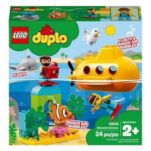 LEGO 10910 DUPLO Town Submarine Adventure Bath Toy