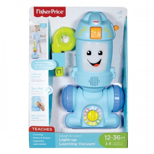 Fisher Price - Laugh and Learn Light-up Learning Vacuum