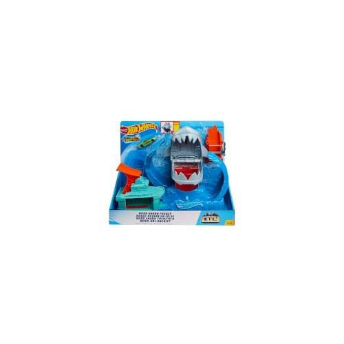 Hot Wheels - City Robo Shark Playset