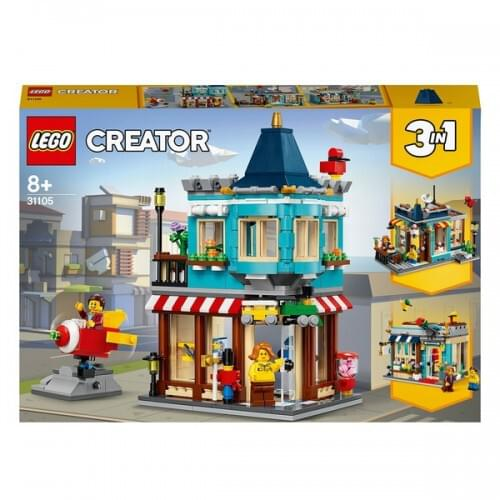 LEGO 31105 Creator 3-in-1 Townhouse Toy Store