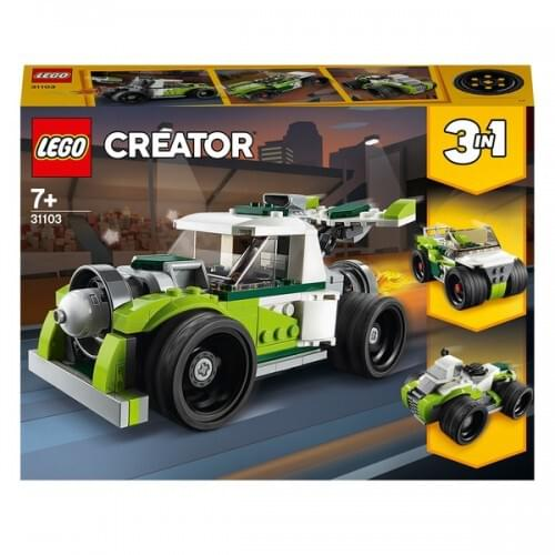 LEGO 31103 Creator 3in1 Rocket Truck- Off Roader- Quad Bike Set