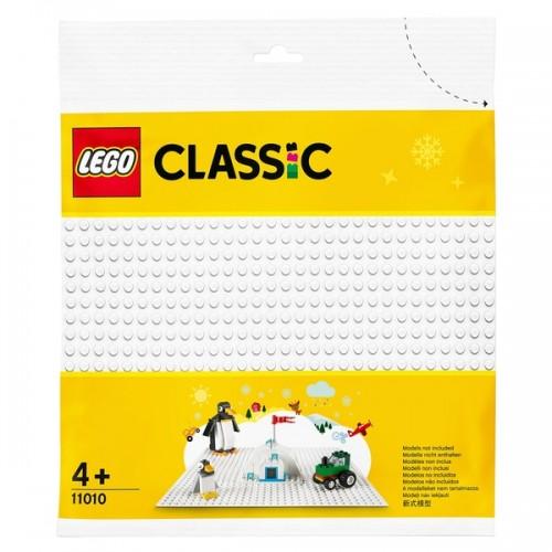 LEGO 11010 Classic White Base Plate 25L x 25Wcm Board Sheet