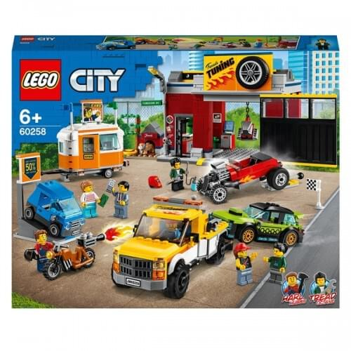 LEGO 60258 City Turbo Wheels Tuning Workshop Playset