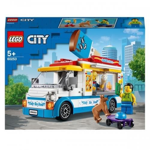 LEGO 60253 City Great Vehicles Ice-Cream Truck Building Set