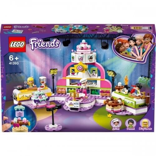 LEGO 41393 Friends Baking Competition with Cakes & Cupcakes Set