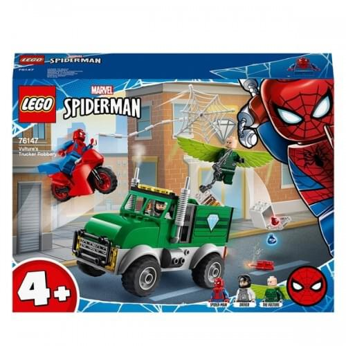 LEGO 76147 Marvel Super Heroes Spider-Man Vulture's Trucker Robbery