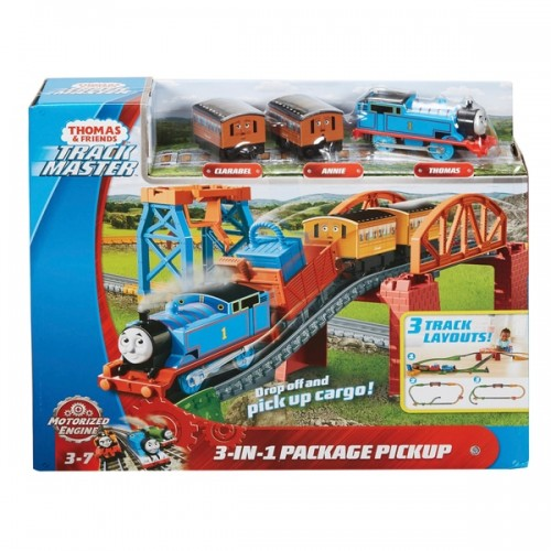 Thomas Motorised - 3 in 1 Play Set