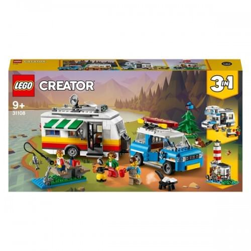 LEGO Creator 3in1 Caravan Family Holiday Car Toy