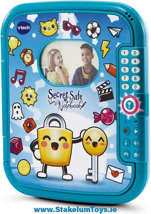 Secret Safe Notebook Blue