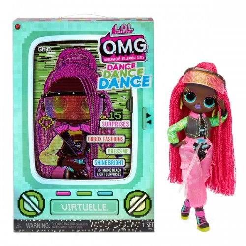 L.O.L. Surprise! OMG Dance Dance Dance Virtuelle Fashion Doll lol