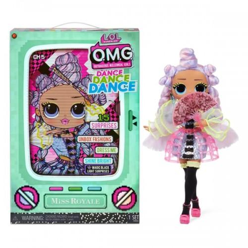 L.O.L. Surprise! OMG Dance Dance Dance Miss Royale Fashion Doll lol
