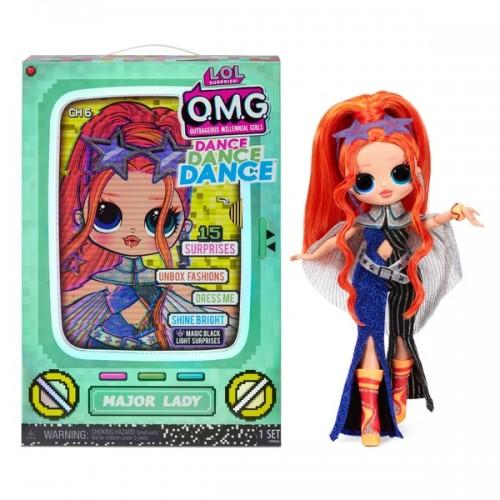 L.O.L. Surprise! OMG Dance Dance Dance Major Lady Fashion Doll lol