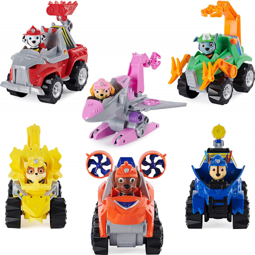 PAW PATROL Dino Rescue Vehicle and Figure