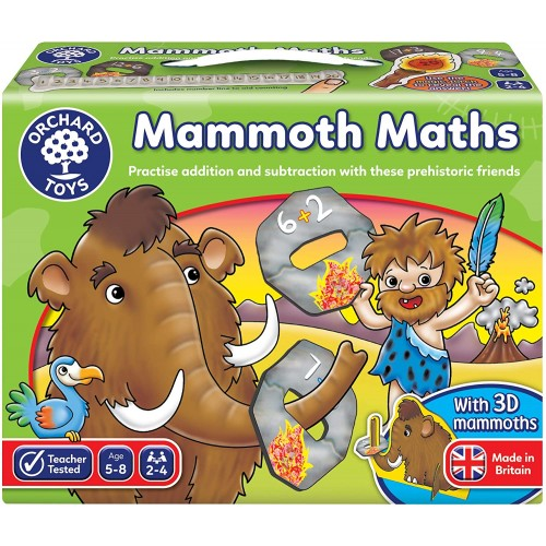 orchard toys mammoth maths game