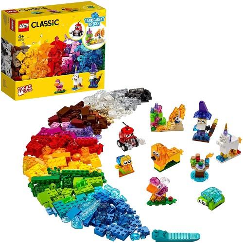 LEGO Classic Creative Transparent Bricks Building