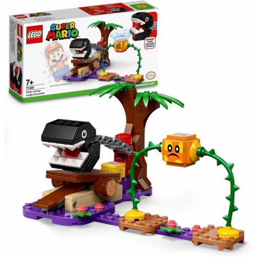 LEGO Super Mario Chain Chomp Jungle Encounter Expansion Set