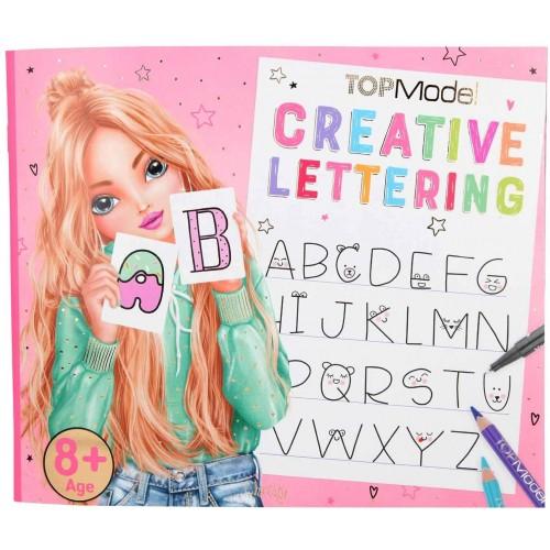 TopModel Handlettering Coloring Book