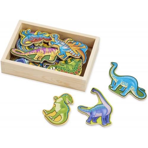 Wooden Dinosaur Magnets | Developmental Toy