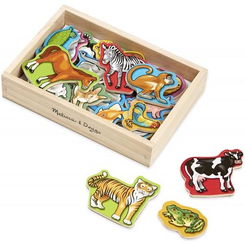 Wooden Animal Magnets | Developmental Toy