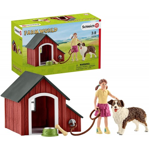 Schleich 42376 Dog Kennel