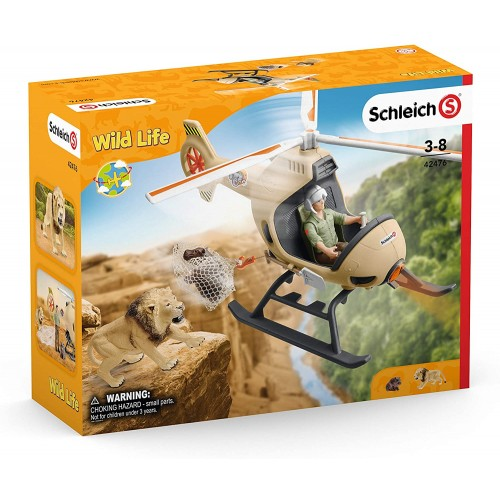 Schleich 42476 Animal rescue helicopter Wild Life