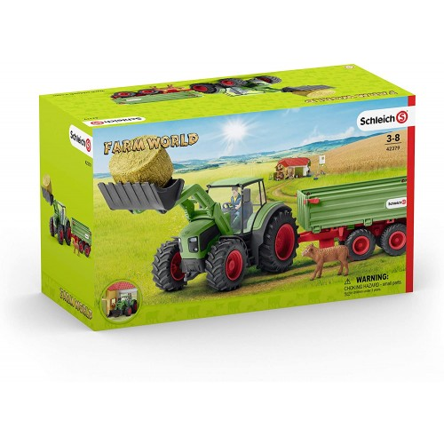 Schleich 42379 Tractor with Trailer