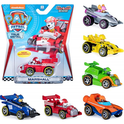 PAW PATROL 6054521 True Metal Ready Race Rescue