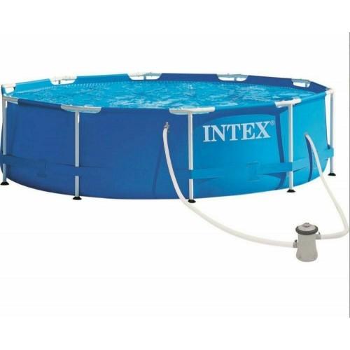 """Intex 10ft x 30""""  Metal Frame Swimming Pool Set"""