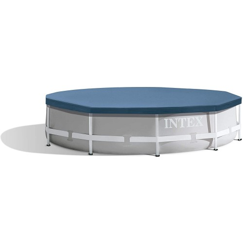 Intex Round Metal Frame Pool Cover 10 ft