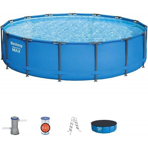 Bestway 14'x 42'' Steel Pro Max Framed Pool