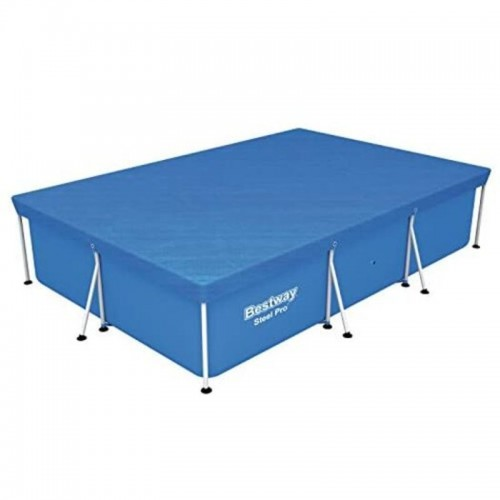 "SQUARE POOL COVER 9' 10"" x 6'7"""