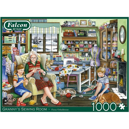 Jumbo Toys, Grannys Sewing Room
