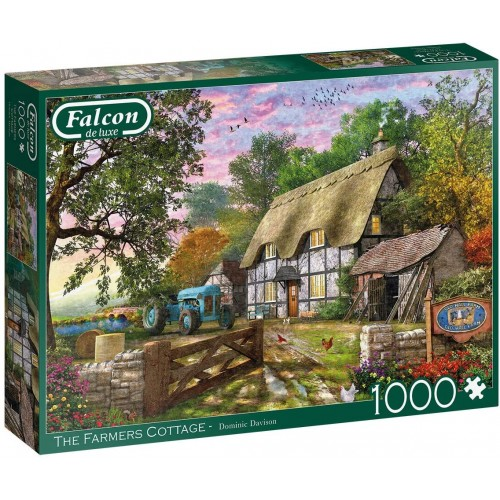 The Farmer's Cottage 1000 Piece Jigsaw Puzzle