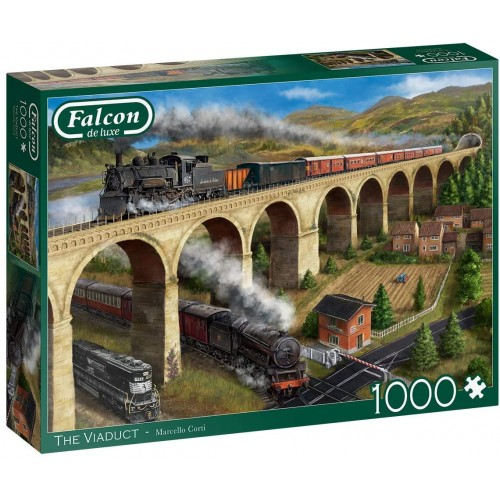 Jumbo Falcon de Luxe - The Viaduct 1000 Piece Jigsaw Puzzle