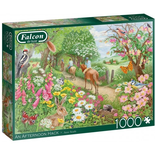 Jumbo 11288 Falcon de Luxe - an Afternoon Hack 1000 Piece Jigsaw Puzzle
