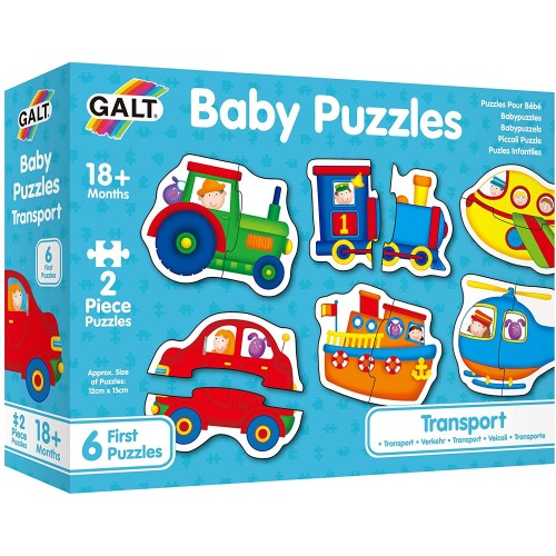 Galt Toys, Baby Puzzle - Transport