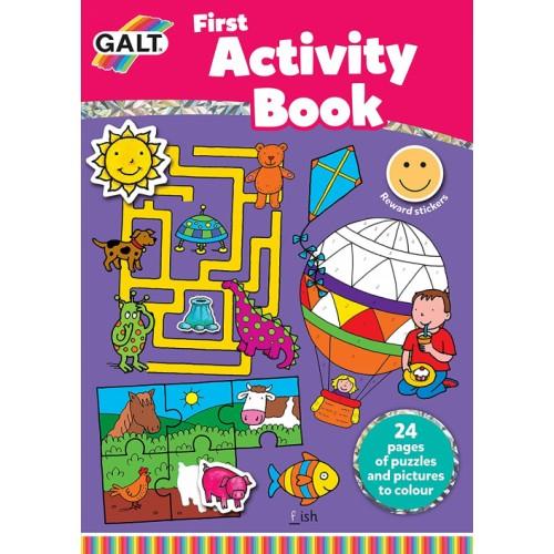 Galt Toys, First Activity Book