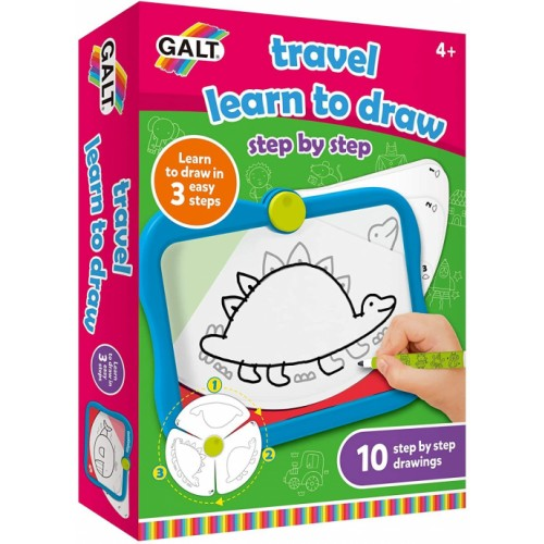 Galt TRAVEL LEARN TO DRAW Craft Activity Game Toy
