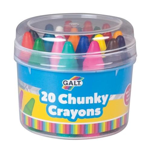 Galt Toys 20 Chunky Crayons