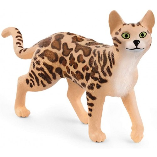 SCHLEICH Animal Figurine Bengal Cat