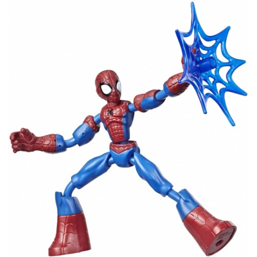 Marvel Bend and Flex Action Figure Toy, 6-Inch Flexible Figure
