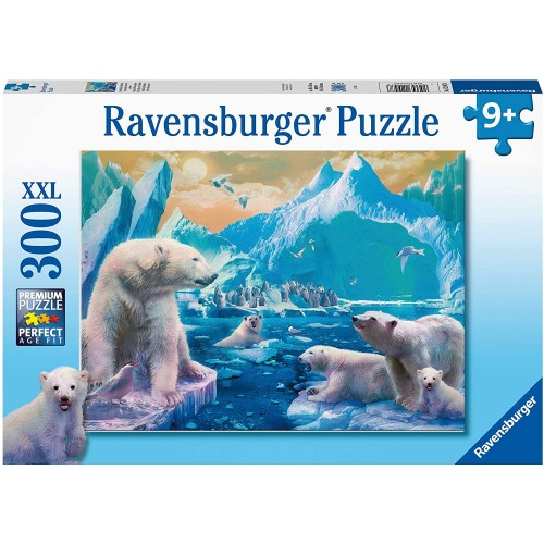 Ravensburger Polar Bear Kingdom 300 Piece Jigsaw Puzzle with Extra Large Pieces