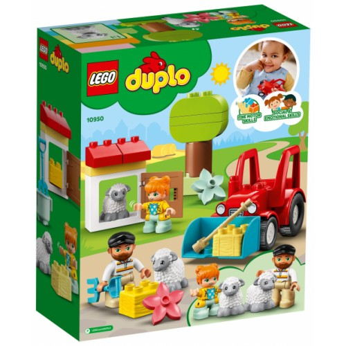 LEGO DUPLO Farm Tractor and Animal Care