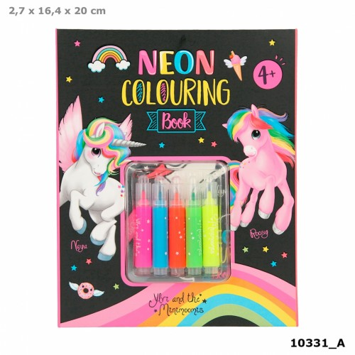 Ylvi Neon Colouring Book Set